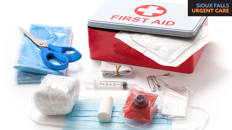 The definitive list of first aid kit supplies
