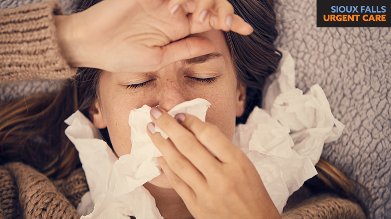 Why do people get sick when the seasons change